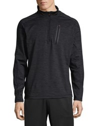 Hawke And Co Quarter Zip Performance Pullover Blue Print