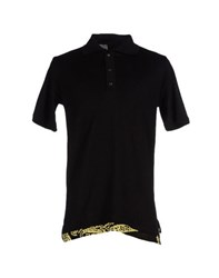 Relive Topwear Polo Shirts Men Black