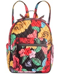 Vera Bradley Leighton Backpack Havana Rose