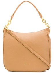Furla Hobo Tote Bag Neutrals