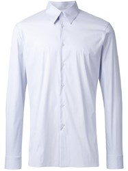 Jil Sander Pointed Collar Shirt Blue