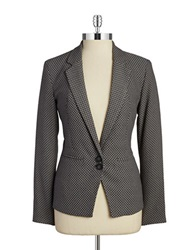 Dex Two Button Blazer Grey