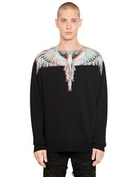 Marcelo Burlon Salvador Printed Cotton Sweatshirt