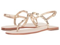 Lilly Pulitzer Rita Sandal Gold Metallic Dress Sandals
