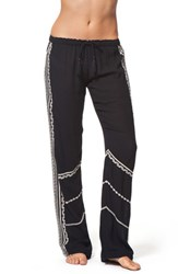 Junior Women's Rip Curl 'Ritual' Embroidered Pants