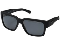 Arnette Supplier Fuzzy Black Grey Polarized Sport Sunglasses