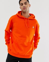 Element Clearsight Hoodie In Orange