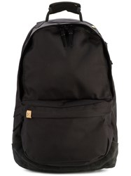 Visvim Ballistic 22L Backpack Men Suede Polyester One Size Black