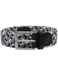 Fred Perry Flecked Woven Belt Grey