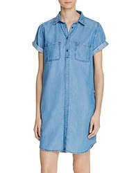 Barbour Fins Chambray Dress