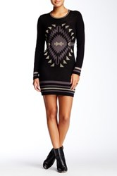 Romeo And Juliet Couture Metallic Sweater Dress Multi