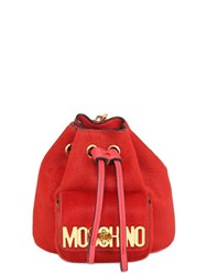 Moschino Mini Ponyskin Backpack