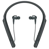 Sony Wi 1000X Noise Cancelling Wireless Bluetooth Nfc High Resolution Audio In Ear Headphones With Mic Remote And Neckband Black