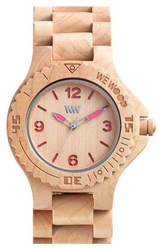 Wewood 'Kale' Wood Bracelet Watch 42Mm