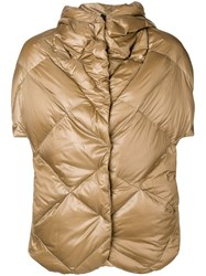 Max And Moi 3 In 1 Metallic Puffer Jacket Brown