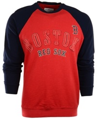 G3 Sports Men's Long Sleeve Boston Red Sox T Shirt Navy Red