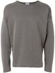 S.N.S. Herning Long Sleeve Fitted Top Grey