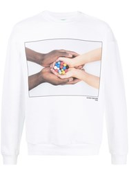 United Colors Of Benetton Toscani Print Sweatshirt 60