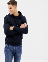 New Look Hoodie With Pocket In Navy