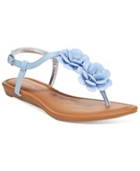 Rampage Dandylion Flat Sandals Women's Shoes Blue