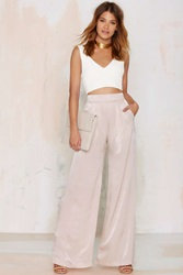 Nasty Gal Dramarama Wide Leg Pants