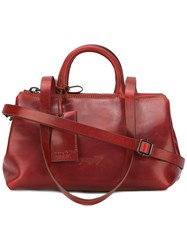 Marsell Multiple Straps Tote Red