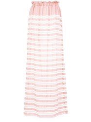 Lemlem Doro Strapless Dress Pink