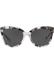 Michael Kors Collection Oversized Tinted Sunglasses Grey