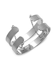 Jules Smith Designs Sterling Silver Plated Cuff Bracelet