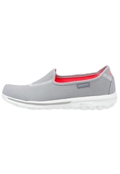 Skechers Sport Go Walk Extend Slipons Gray White Grey