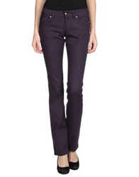 John Richmond Casual Pants Dark Purple
