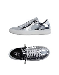 Bb Washed By Bruno Bordese Footwear Low Tops And Trainers Women Silver