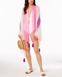 Inc International Concepts I.N.C. Ombre Cover Up And Wrap Pink