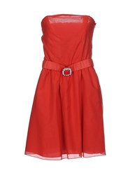 Cristinaeffe Collection Dresses Short Dresses Women Red