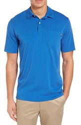 Vineyard Vines Men's Garment Dyed Jersey Polo Kingfisher
