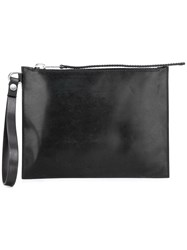 Rick Owens Zipped Clutch Black