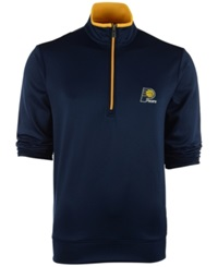 Antigua Men's Indiana Pacers Leader Pullover Navy Gold