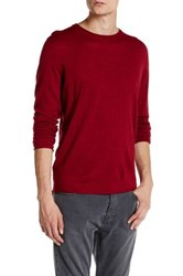 Zadig And Voltaire Teiss Long Sleeve Merino Wool Pullover Red