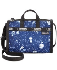 Le Sport Sac Lesportsac Peanuts Collection Mini Weekender Crossbody Woodstock March