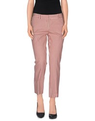 Kiltie Trousers Casual Trousers Women Brick Red
