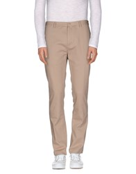 M.Grifoni Denim Trousers Casual Trousers Men Dove Grey