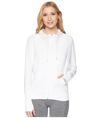Jockey Active Motivation Jacket Pure White Coat