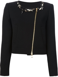 Moschino Cheap And Chic Embellished Jacket Black