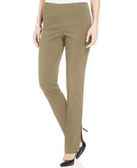 Jm Collection Studded Pull On Pants Meadow Trail