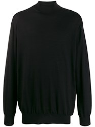 Cruciani Cashmere Turtleneck Jumper Black