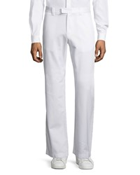 Red Valentino Wide Leg Pants White Men's