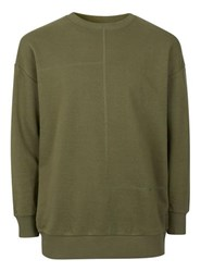 Antioch Green Stitch Sweatshirt