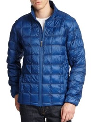 Rainforest Thermoluxe Ripstop Puffer Jacket Spice Blue