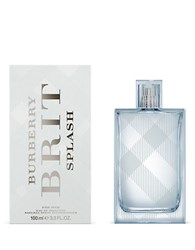 Burberry Brit Splash Eau De Toilette No Color