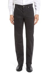 Brax Men's Big And Tall Luxury Stretch Modern Fit Trousers Charcoal